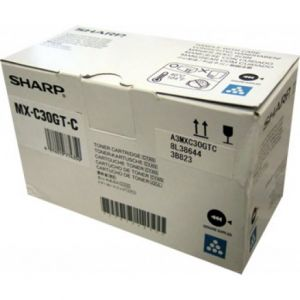 Toner (Cyan) SHARP MX-C30GTC